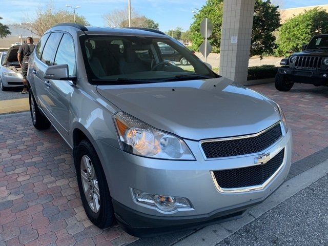PRE-OWNED 2012 CHEVROLET TRAVERSE LT AWD
