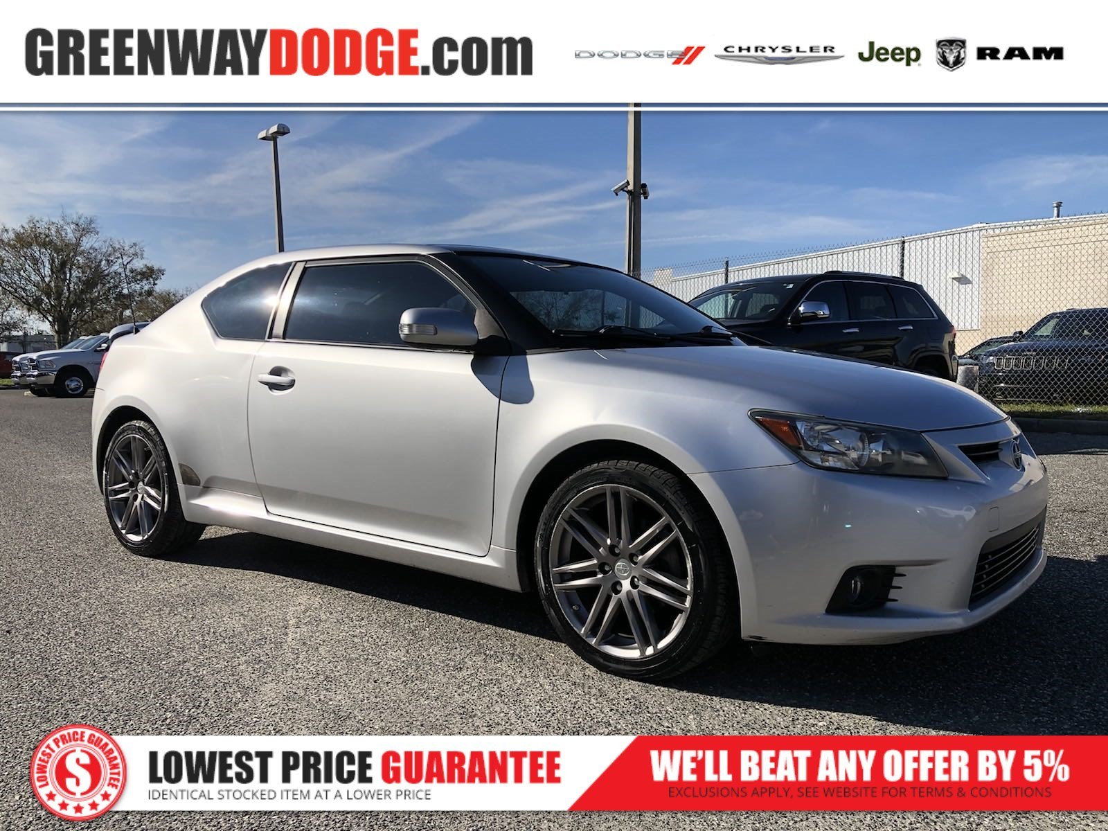 PRE-OWNED 2012 SCION TC BASE FWD 2D COUPE