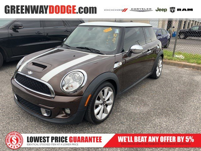 PRE-OWNED 2012 MINI COOPER S BASE FWD 2D HATCHBACK